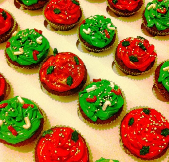 Cupcakes de Navidad azucarglassymas (1)