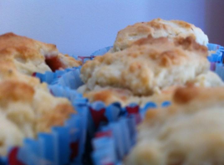 Muffins de coco y fresas3