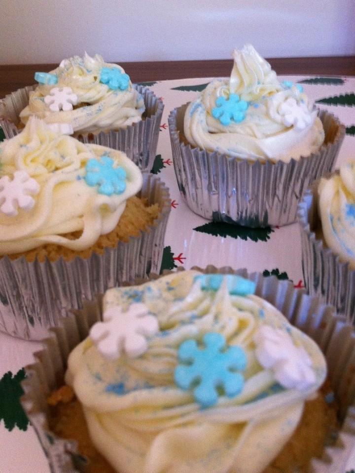 Cupcakes de Limón y Lemoncurd con frosting de Vainilla