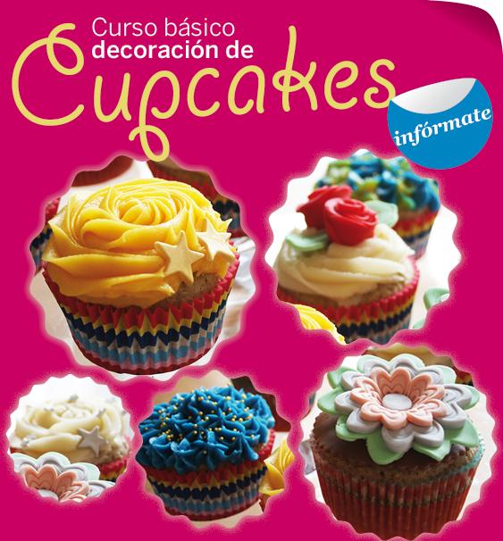 Curso básico de Decoración de Cupcakes ¿te apuntas?