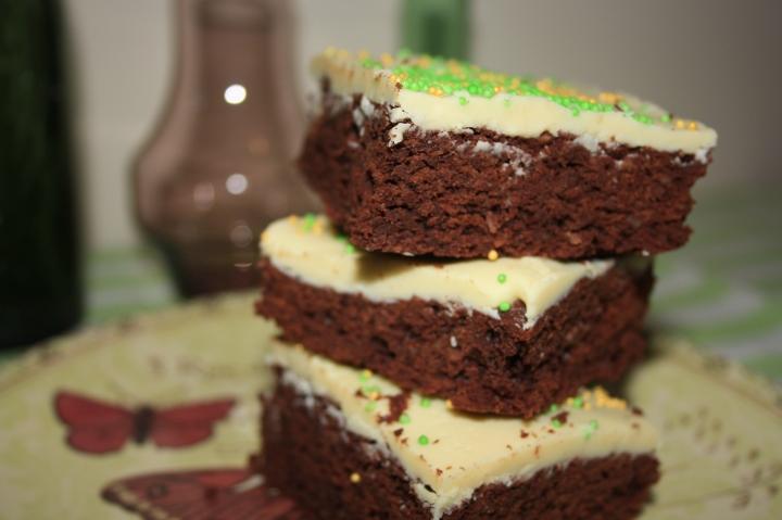 Brownie sencillo - azucarglassymas (3)