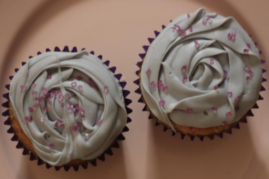 cupcakes de lavanda azucarglass y mas