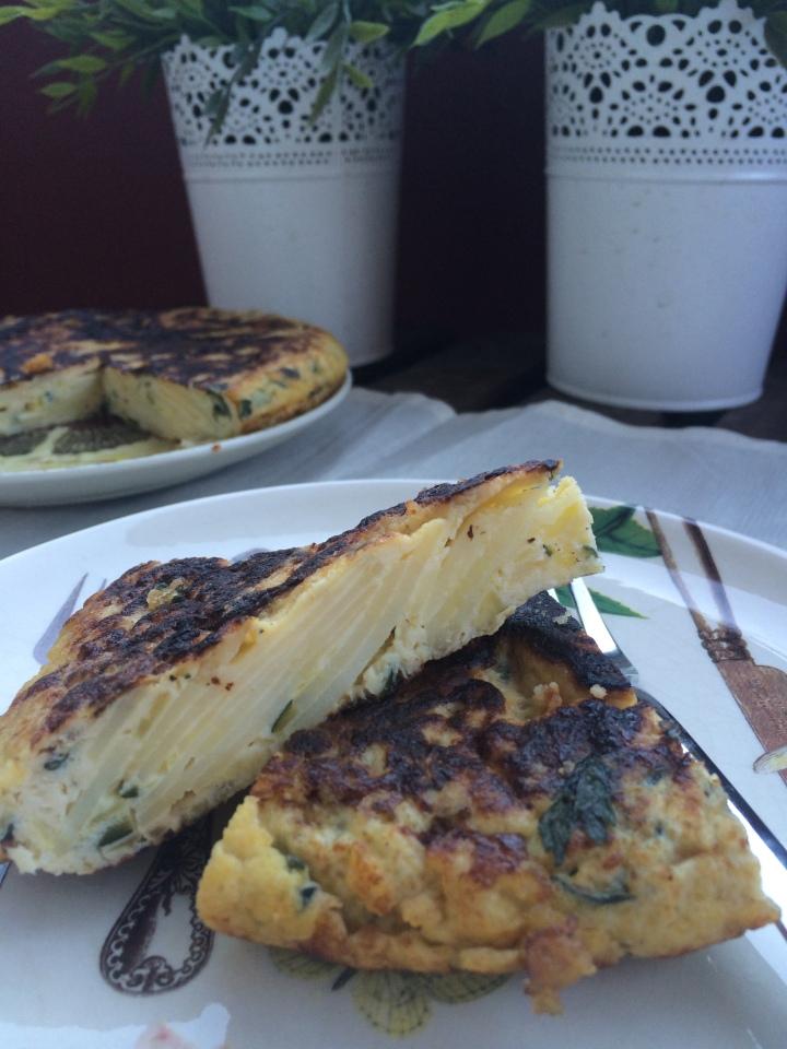 AzucarGlassyMas Tortilla de Calabacin y Patata (2)