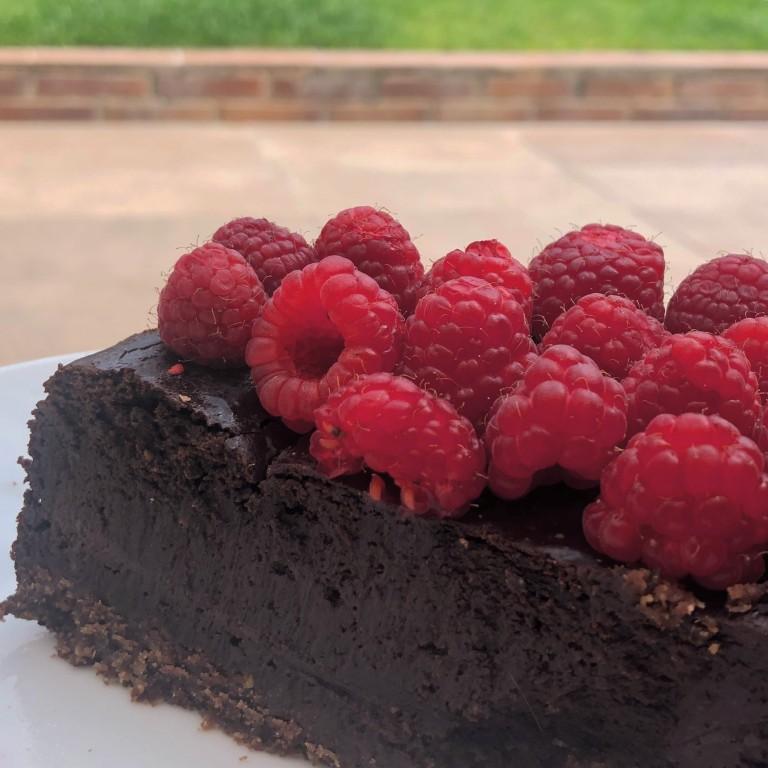 chocolate cheesecake azucarglassymas (2)